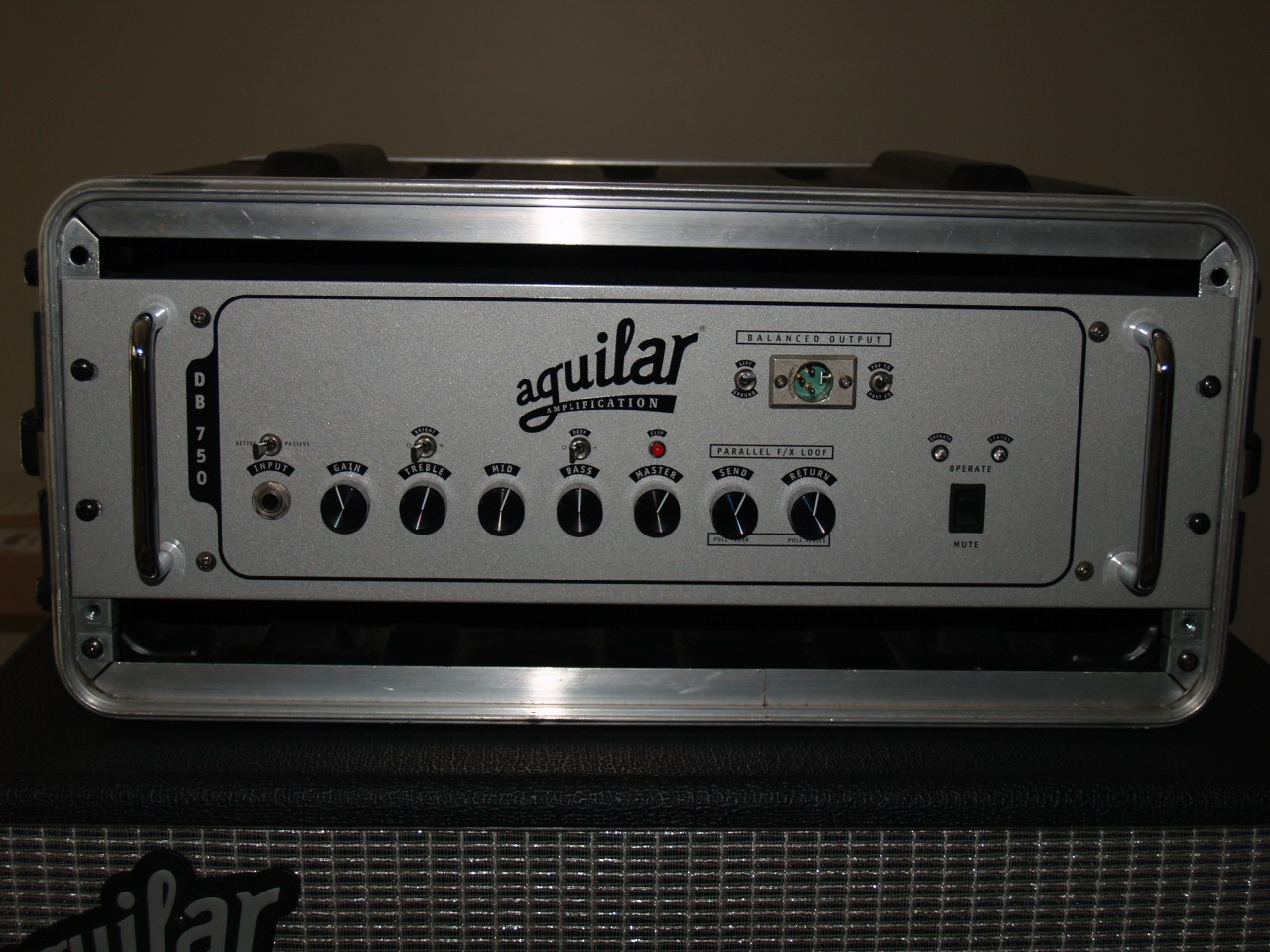 Aguilar DB750 bass head